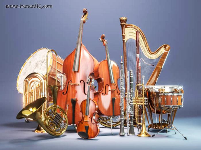 تعدادی از آلات موسیقی