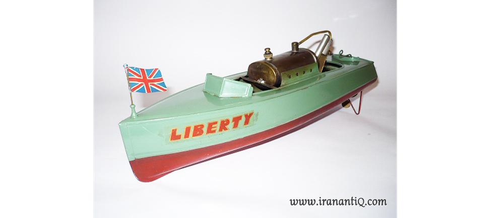 کشتی روغنی اسباب بازی