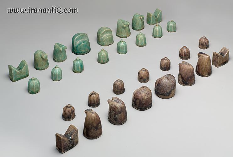 شطرنج نیشابوری ، محل نگهداری : موزه متروپولیتن