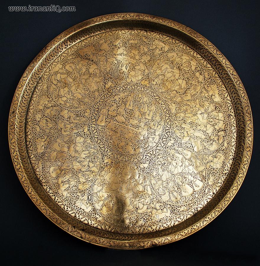 مجمع برنجی مربوط به دوره قاجار