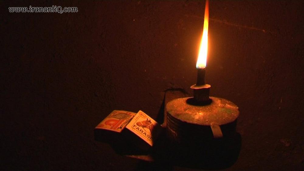 چراغ موشی ، ساخته شده با حلب