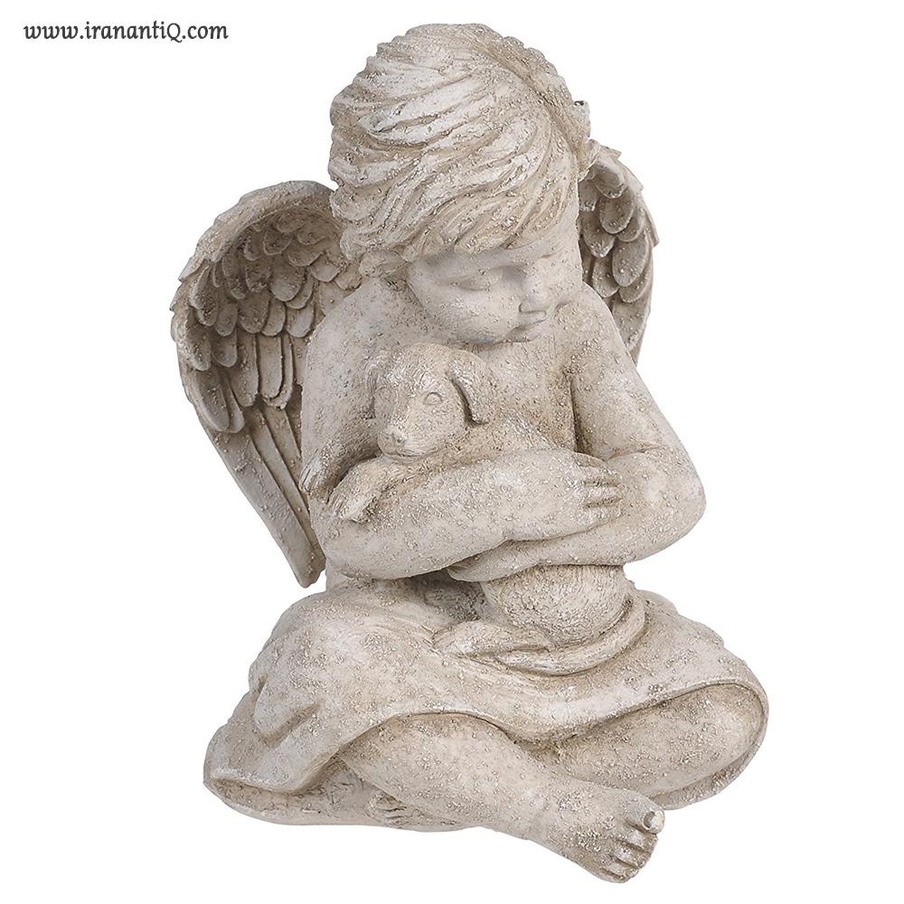مجسمه فرشته ، ساخته شده از سیمان و رزین