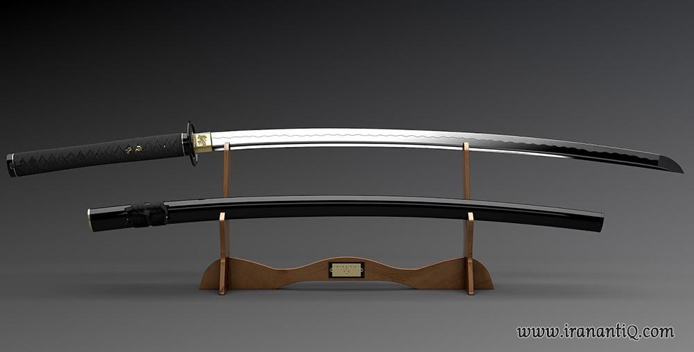 شمشیر کاتانا مربوط به قرن 13 میلادی