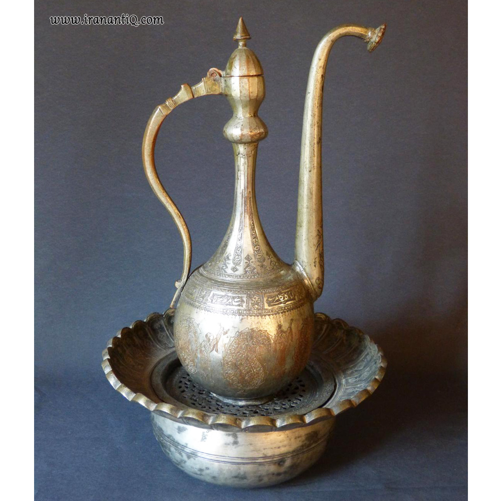 آفتابه لگن مربوط به دوره قاجار