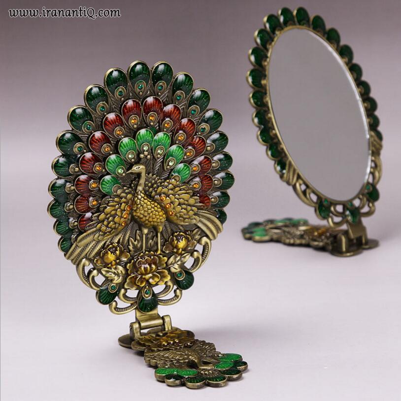 آینه با طرح طاووس