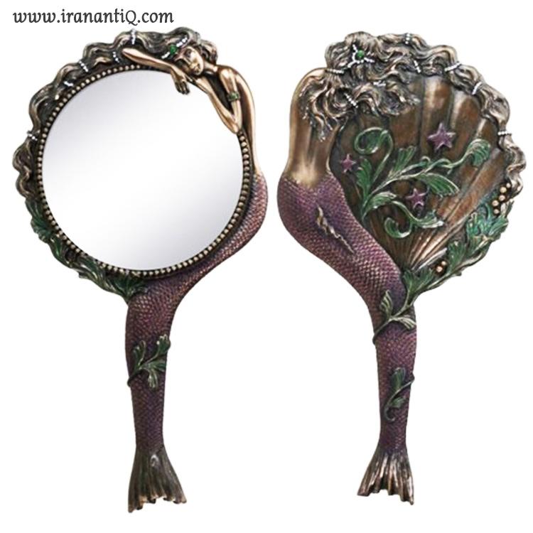 پشت و روی آینه دستی