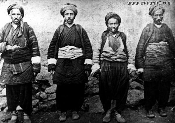 لباس مردان در دوره قاجار