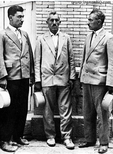 لباس مردان در دوره پهلوی ، کت و شلوار به همراه کلاه پهلوی