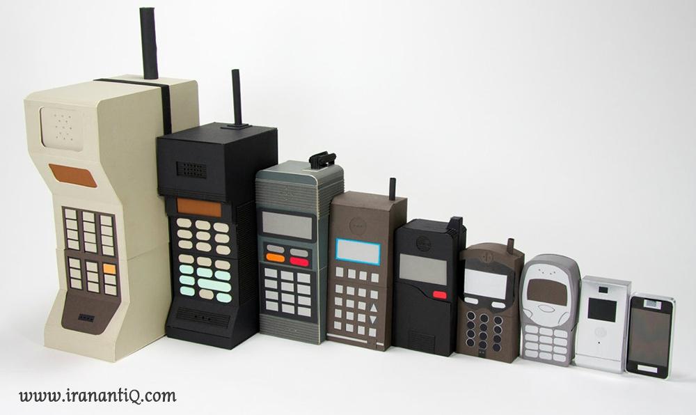 تلفن های همراه از دیروز تا به امروز