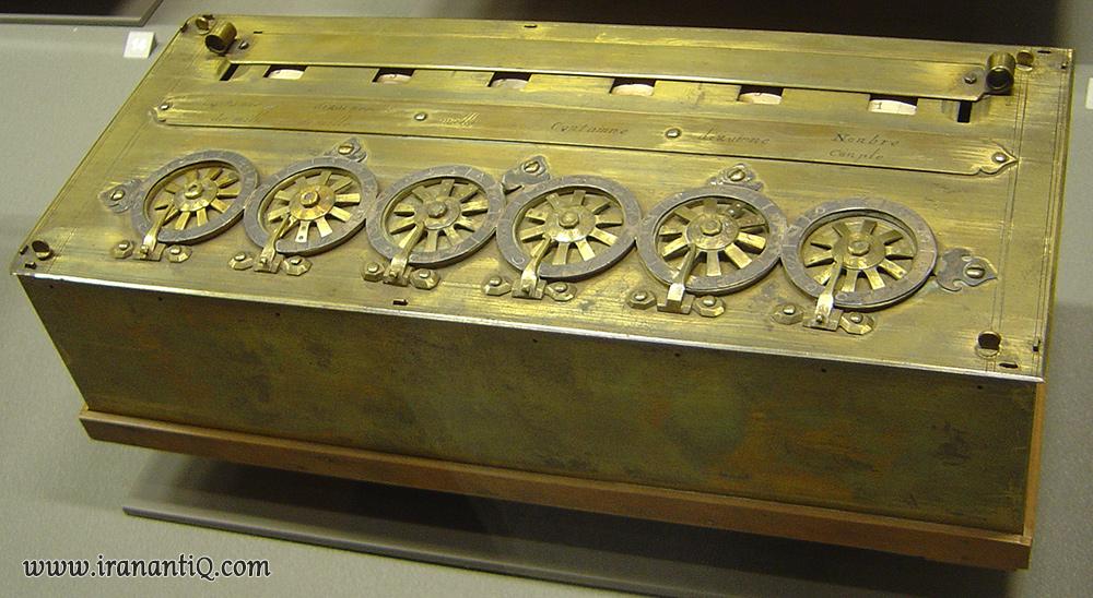 دستگاه پاسکالین اختراع پاسکال