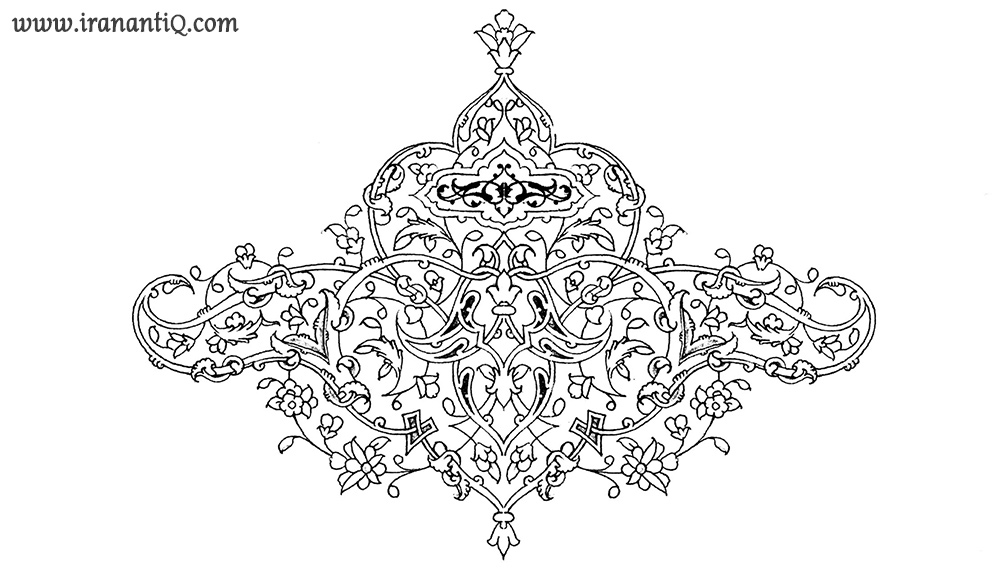 persian islamic design ؛ نقش اسلیمی