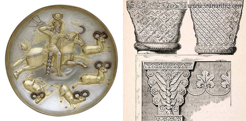 sassanid emprie persian design