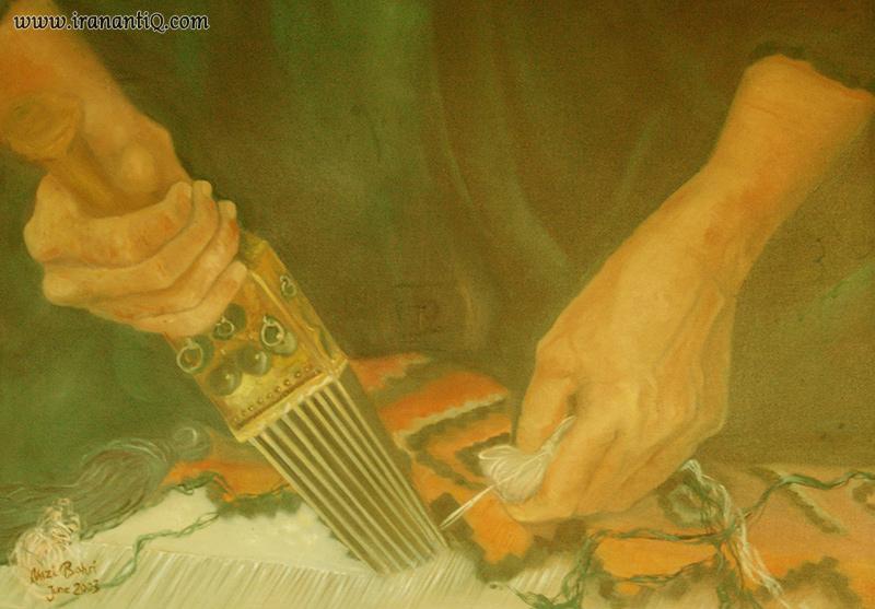 Kilim Weaving گلیم بافی