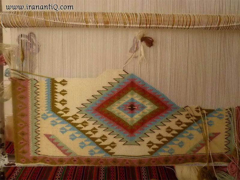 گلیم بافی - persian kilim Weaving