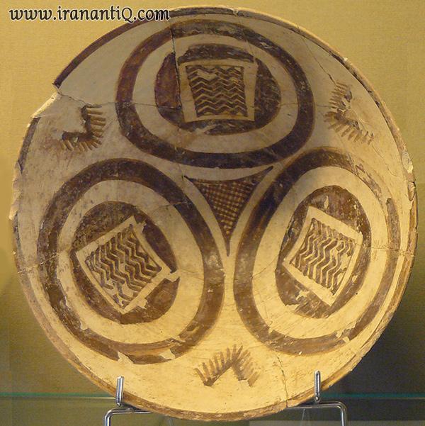 پیاله سفالی نقشینه ، هزاره چهارم پیش از تاریخ ، شوش