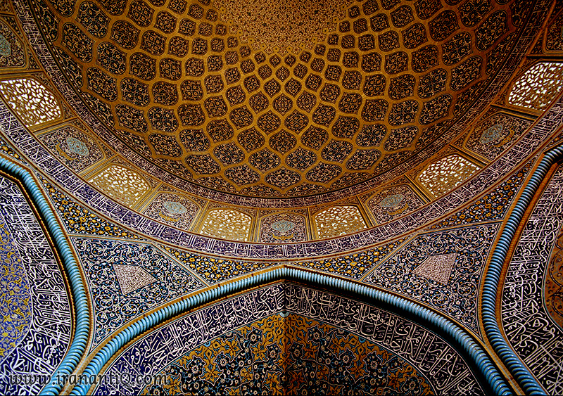 Sheikh Lotfollah Mosque tile work