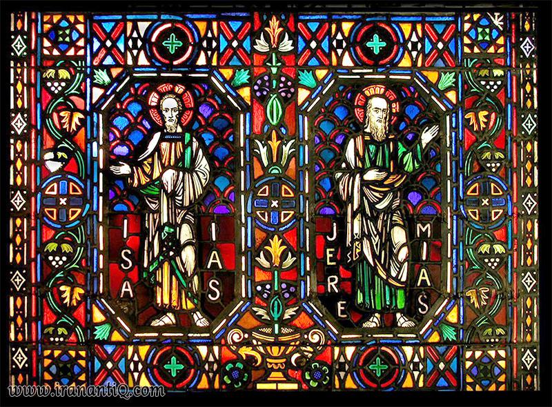 رنگ آمیزی پنجره های شیشه ای اروپا
