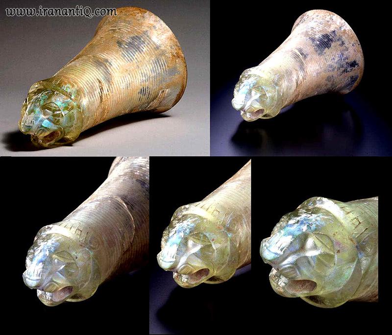 جام های بلورین دربار هخامنشیان - Achaemenid Glass Cup