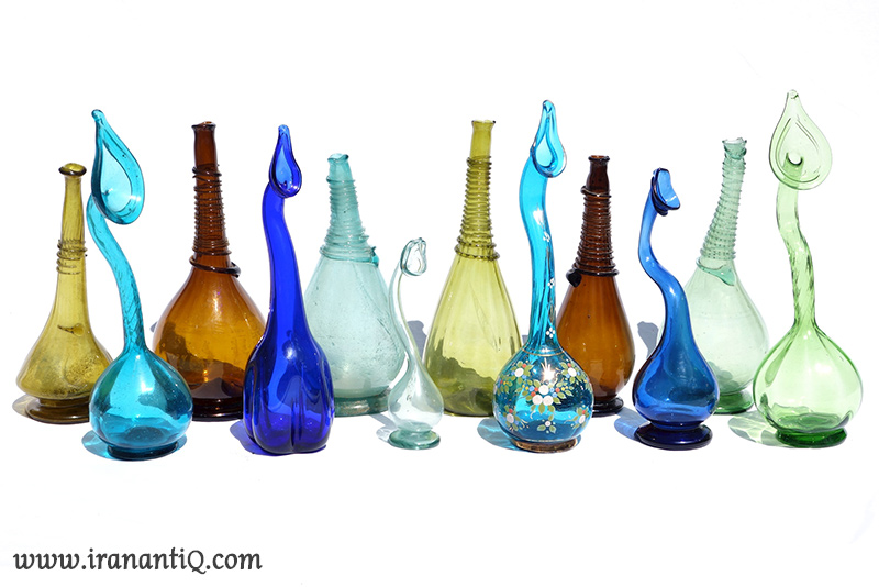 persian antiques glasses