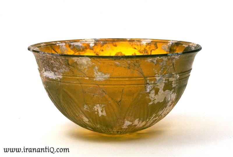 achaemenid glass bowl 5th-4th bc