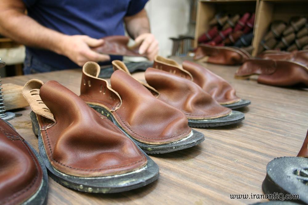 سراجی سنتی ، دوخت کفش