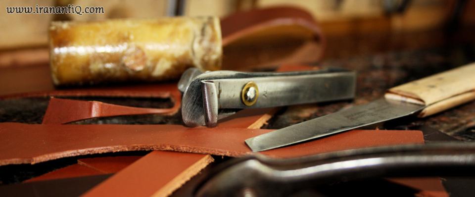 از ابزار کار سراجی سنتی