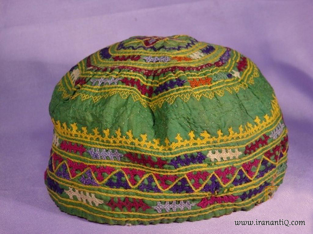 کلاه سنتی ممقان دوزی شده