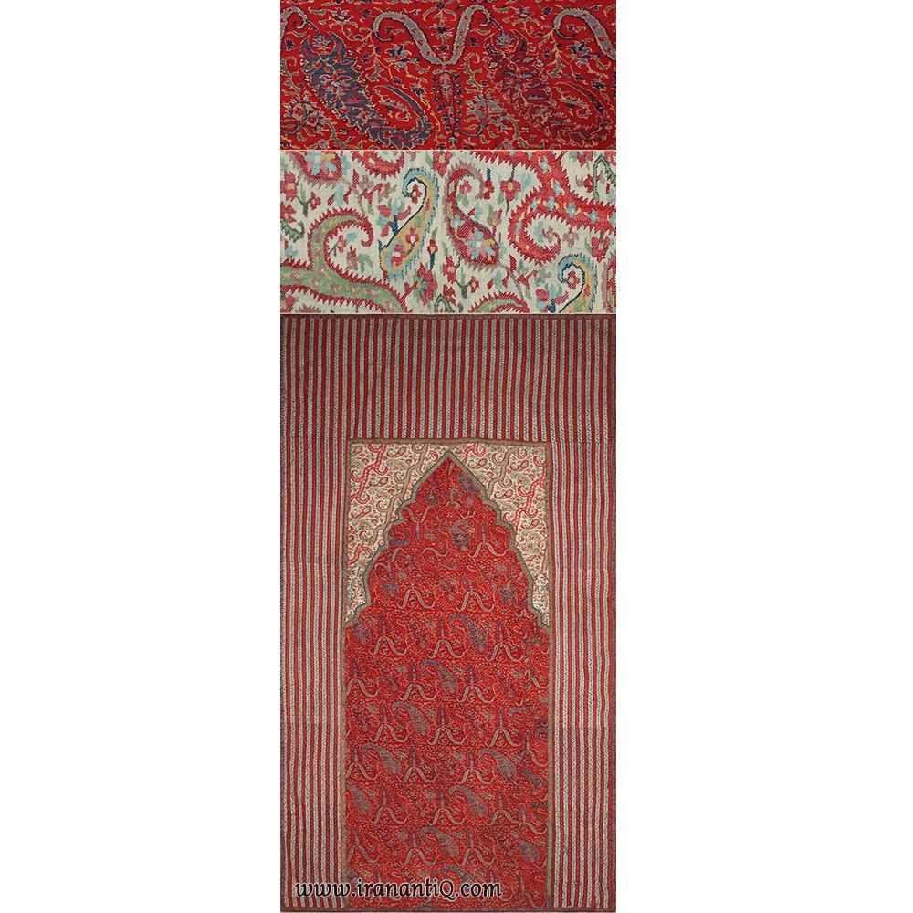شال مربوط به دوره محمد شاه قاجار ، 1925-1795 میلادی ، حدودا 1840 میلادی مصادف با 1219 شمسی