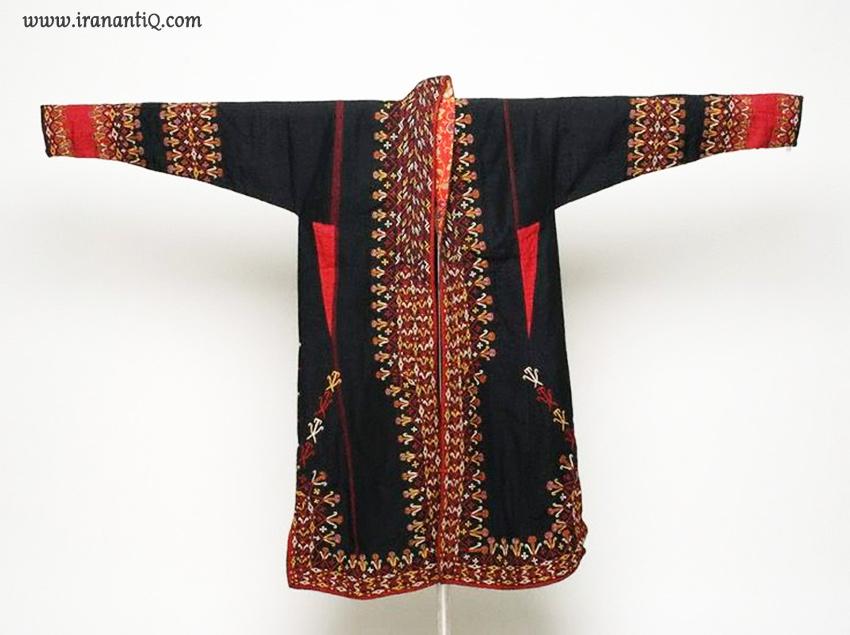 لباس ترکمنی سوزن دوزی شده
