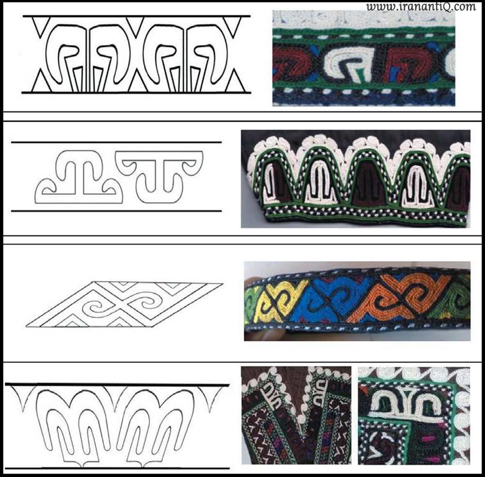 چند نمونه از طرح قوچوق (قوچاق)