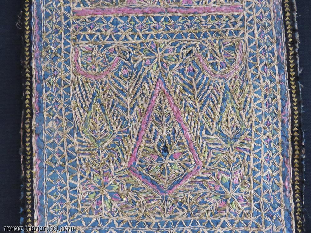 زرتشتی دوزی (گبر دوزی) ، دوخته شده در یزد