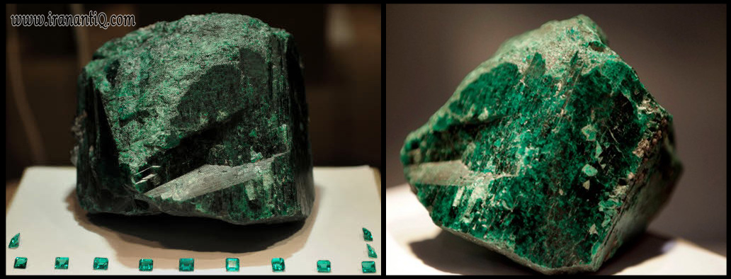 Fura ، بزرگ ترین سنگ راف زمرد