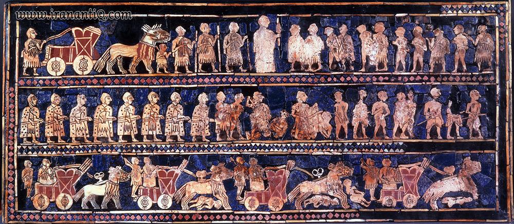 صحنه هایی از جنگ ، اور ، 4500 سال پیش