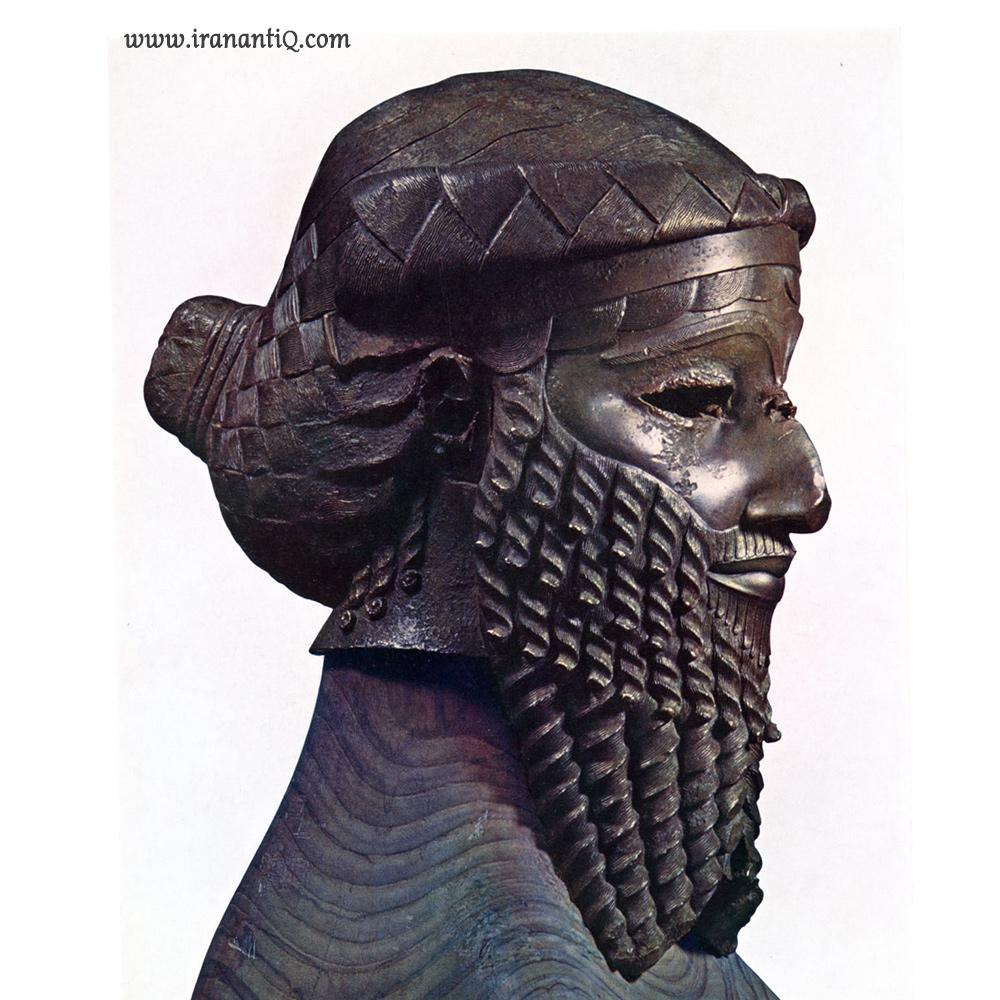 سر یک حکمران اکدی - حدود 4200 سال پیش