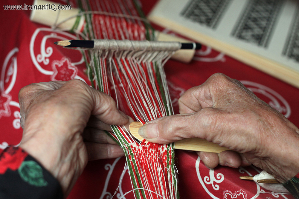 پن بافی card weaving