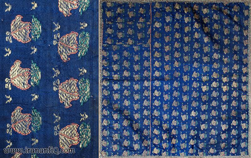 Persian Silk Textile / Termeh - Safavid empire iranantiq.com