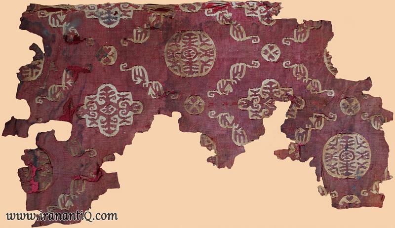 persian silk textile termeh sasanid empire