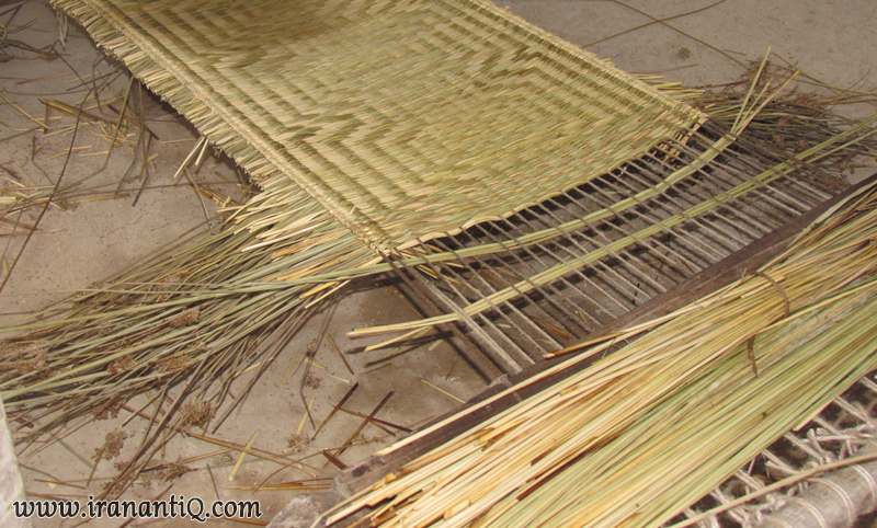 Mat weaving حصیر بافی