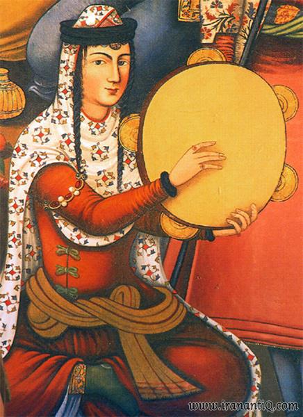 نقاشی دیواری چهل ستون اصفهان