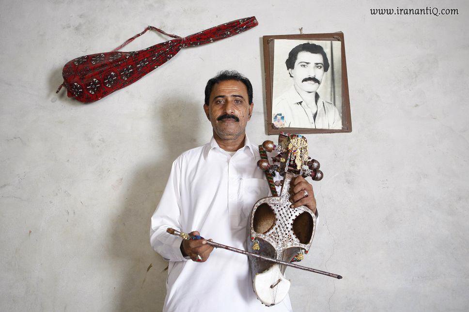 زنده یاد علی محمد بلوچ معروف به علیوک ، نوازنده بنام قیچک