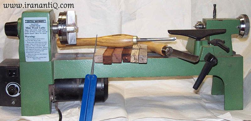 نمونه ماشین خراطی کوچک
