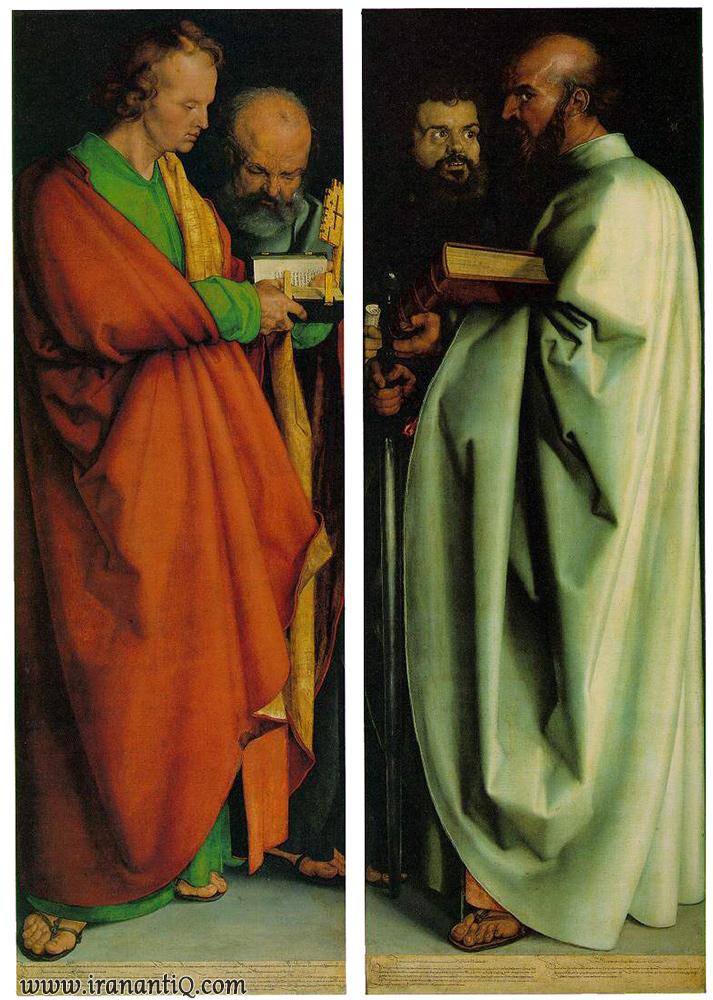 چهار حواری ، اثر آلبرشت دورر ، رنسانس