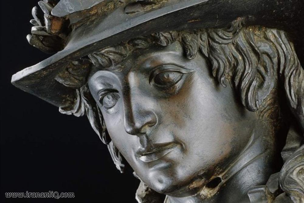 بخشی از مجسمه داوید ، اثر دوناتلو ، رنسانس