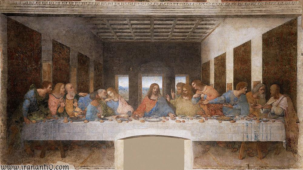 شام واپسین ، اثر لئوناردو داوینچی
