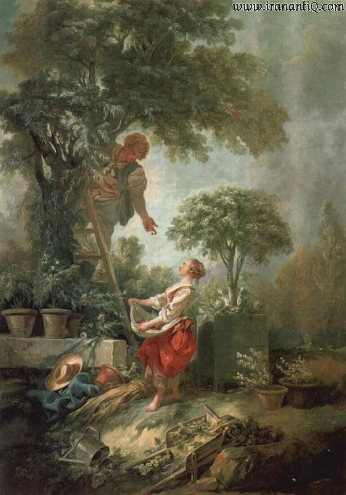 اثری از فرانسوا بوشه در سبک روکوکو