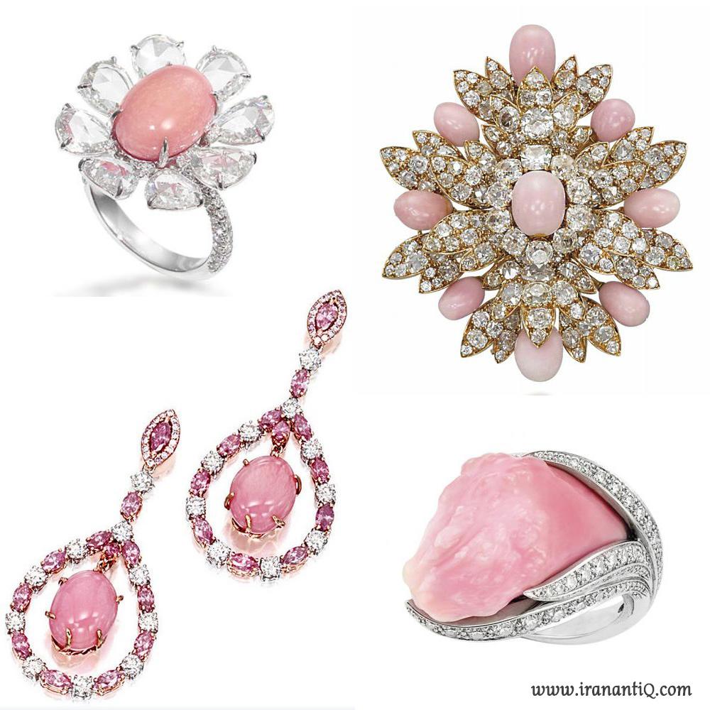 جواهراتی با مروارید کُنچ