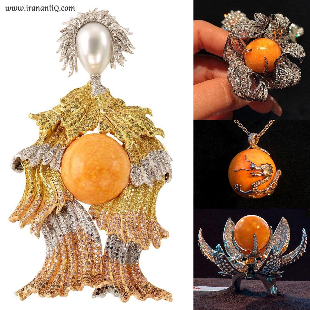 جواهراتی ساخته شده با مروارید ملو ملو