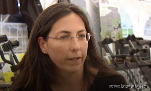 ماریون بلوگر زن آلمانی سرپرست تیم باستان شناسی