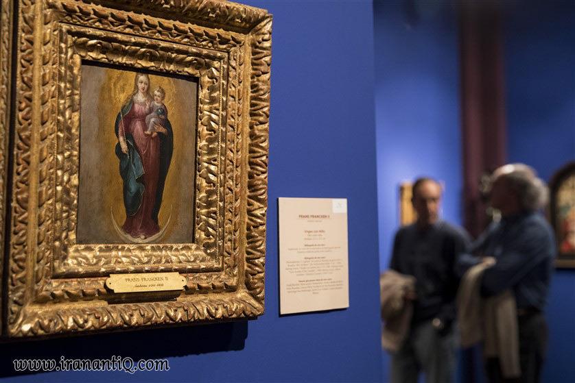 نمونه آثار نمایشگاه هنر و آنتیک مادرید