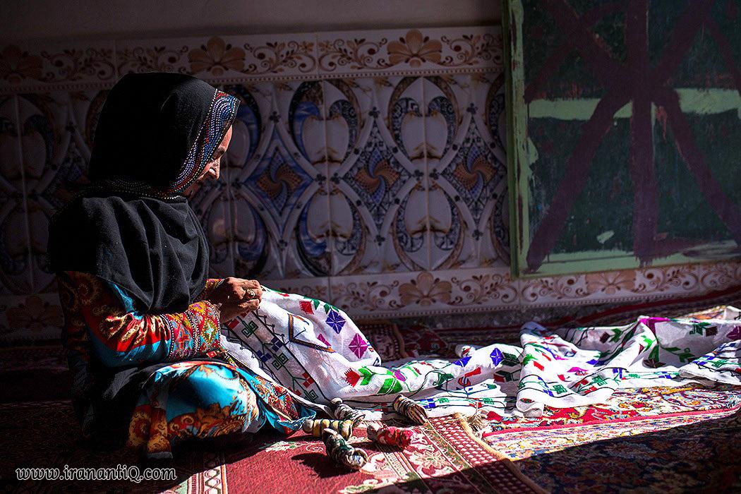 نقش دوزی ، از هنرهای سنتی ایران